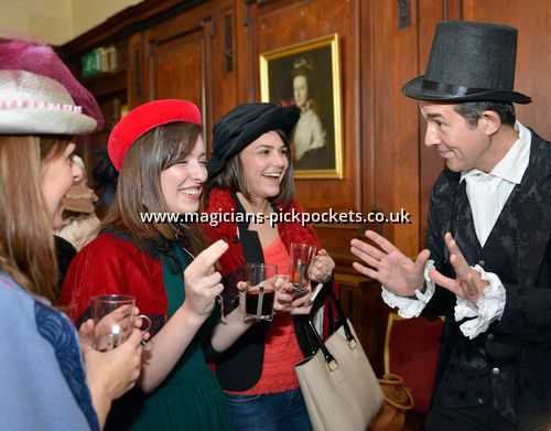 Victorian, Edwardian & Dickensian Roving Magicians & Pickpockets